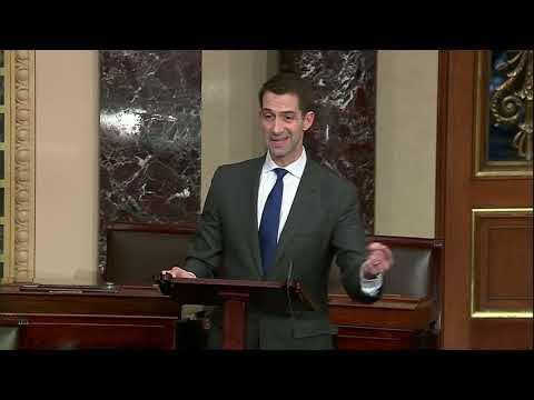 March 23, 2020: Senator Cotton Speaks on the Senate Floor