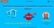 Real Estate Assessment Center(REAC) Inspection 2020 Updates