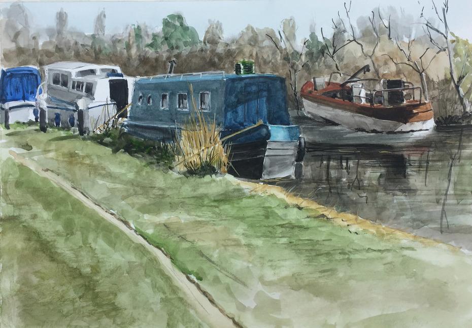 Confey Barge Moorings
