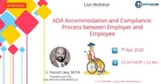 ADA Accommodation and Compliance: Process between Employer and Employee