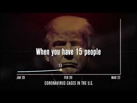 Trump cease and desist letter demanding that TV stations immediately pull this ad #CoronaVirus