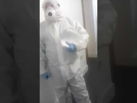 CoronaVirus: Are These Men In Hazmat Suits Lying To People?