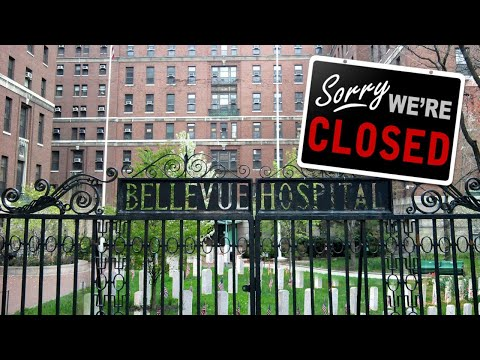 Ghost Town NYC – Pop Up Morgue at Bellevue Hospital on New York City's East Side?
