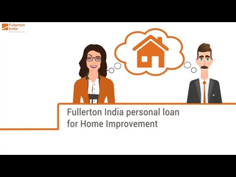 Personal Loan for Home Renovation   Home Improvement Loan   Fullerton India