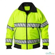 hi viz reenish yellow neon jacket supplier