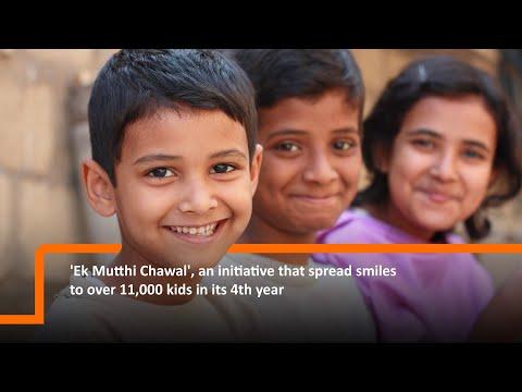 Ek Mutthi Chawal Initiative by Fullerton India