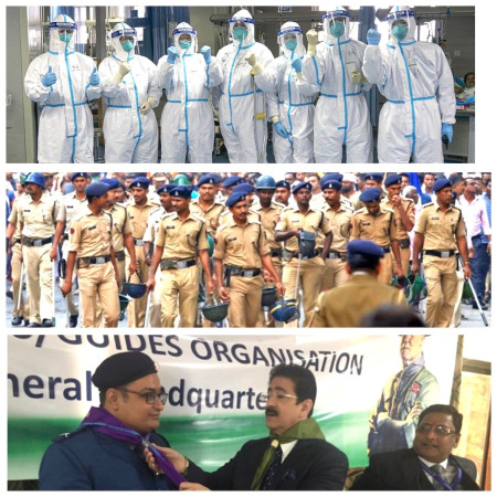 Chief Scout For India Sandeep Marwah Addressed The Nation on Corona virus