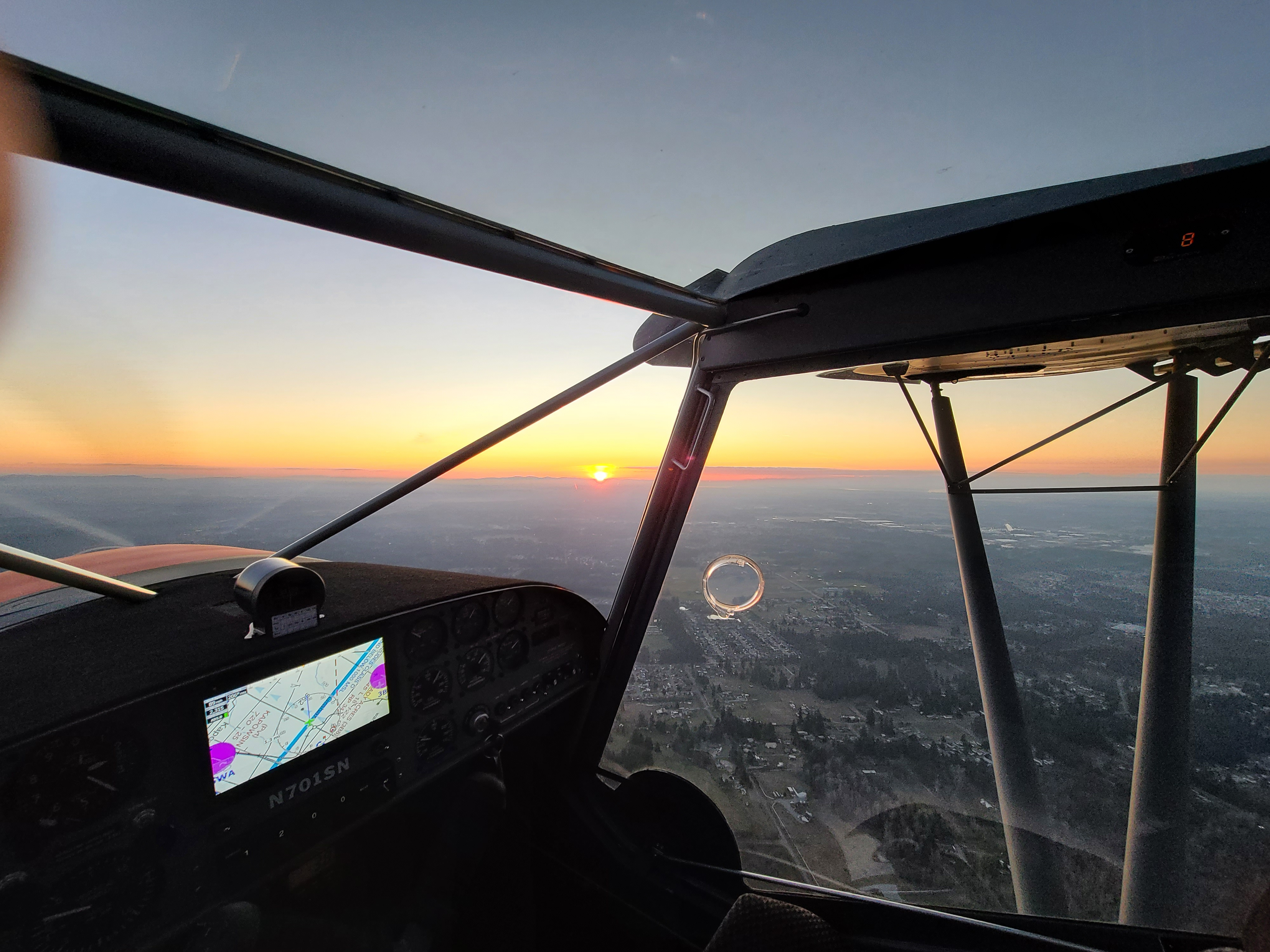Sunset: What A View!