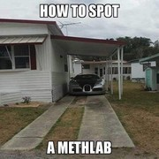 How to spot a methlab