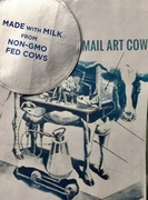 Milk from Mail Art Cow