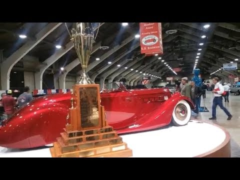 1936 Packard America's Most Beautiful Roadster 2017 at GNRS