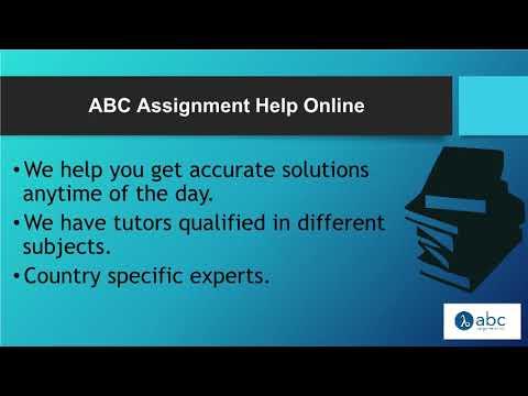 Abc online assignment help