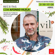 "GASTRONOMIA: Receitas ""a la"" Afonso Vilela - Eis o MAR Shopping Matosinhos online!"