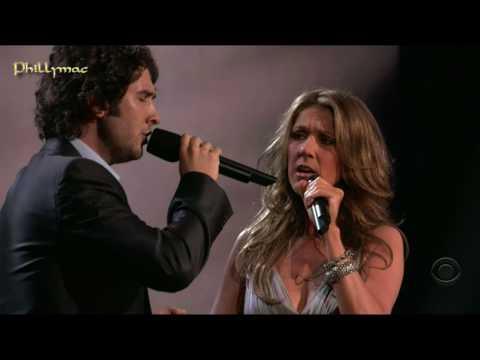 "Celine Dion & Josh Groban Live ""The Prayer"" (HD 720p)"