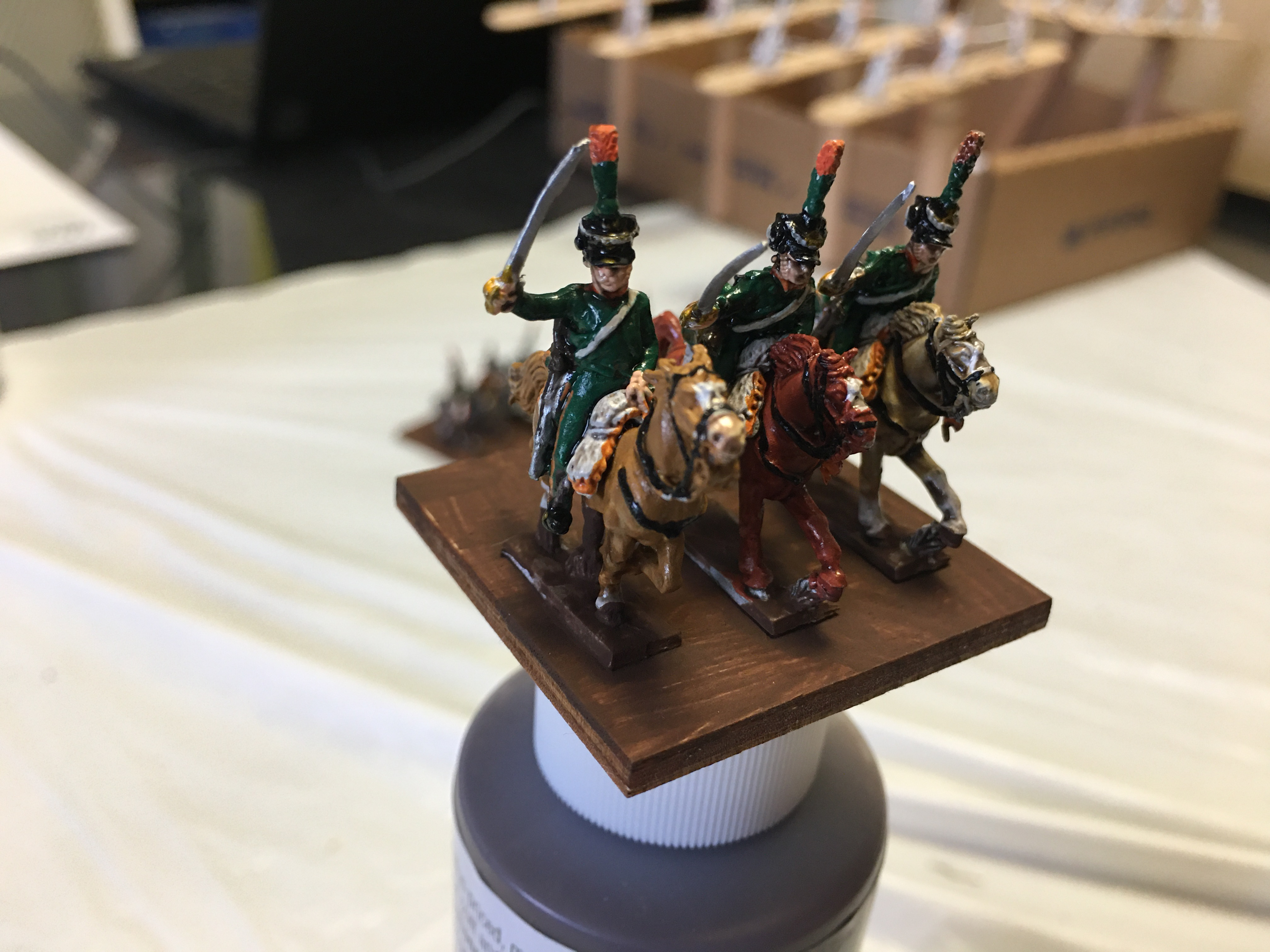 15th Chasseurs Closeup