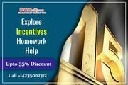 Explore Incentives Homework Help