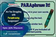 Are You Struggling with Paraphrasing Assignment?