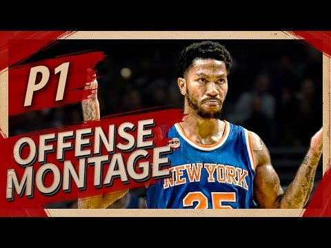 Derrick Rose UNREAL Offense Highlights Montage 2016/2017 (Part 1) - CRAZY Crossovers, MVP ROSE!
