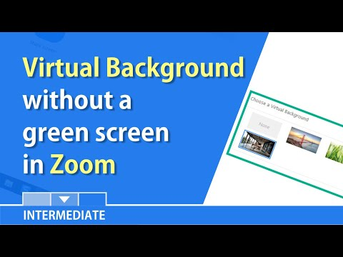 Zoom now allows a virtual background w/o a green screen by Chris Menard