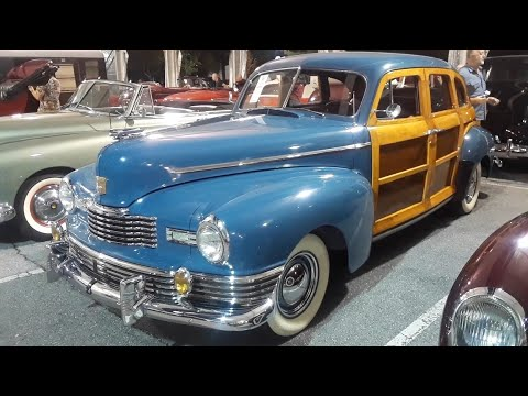 "1947 Nash Ambassador Suburban,A Very Rare ""Woodie"" Sold At the 2018 RM Sotheby's, Hershey"