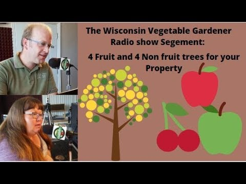 Segment 2 of S4E4 - Four fruit trees and Four non fruit trees for your property - Garden talk radio