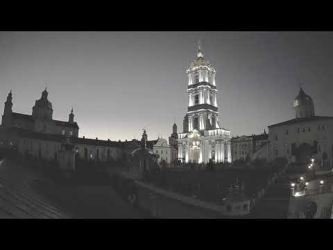 Прямая трансляция ☦ Свято-Успенская Почаевская Лавра, Live broadcast of the Pochaev Lavra