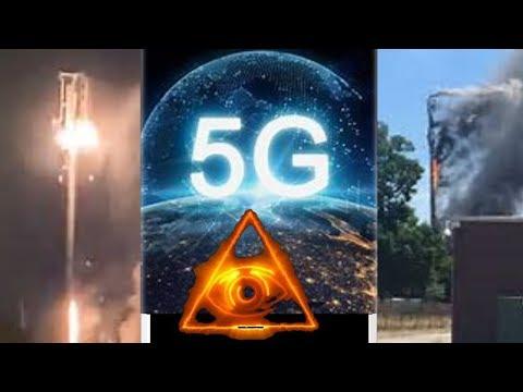 5G Towers Set On Fire Worldwide