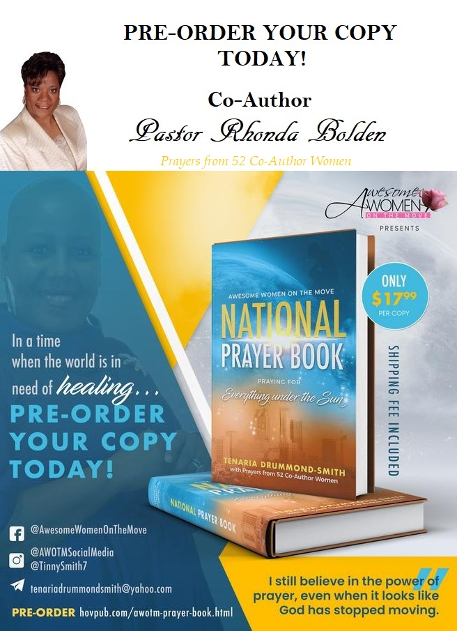 National Prayer Book FLYER - Pastor Rhonda Bolden pic smaller