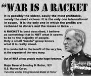 War is (((Their))) Racket