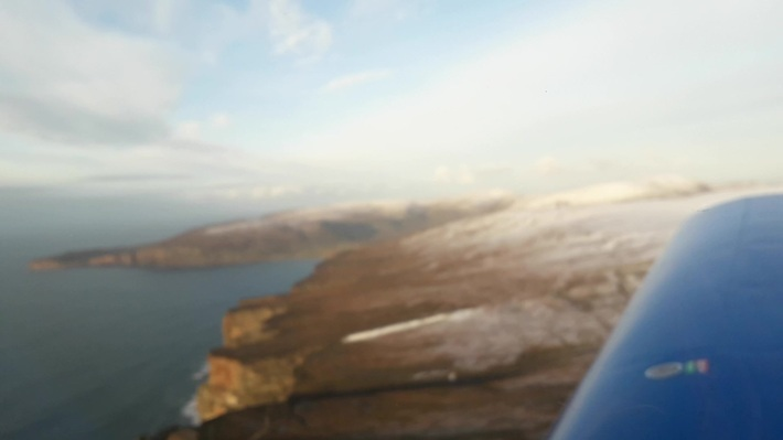 Winter Snow over Hoy Orkney