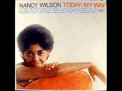 Nancy Wilson - Don't Come Running Back To Me