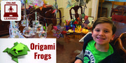 Make Origami Frogs