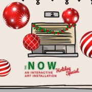 """""""The Now - Holiday Special"""" - World's Largest video interactive public art installation"""
