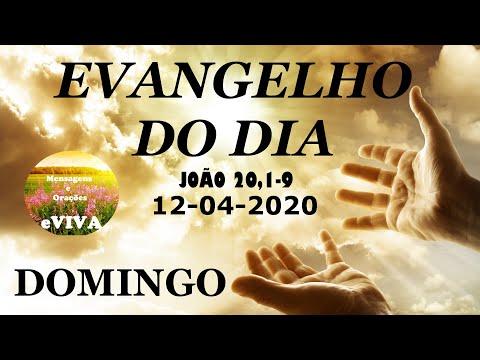 EVANGELHO DO DIA 12/04/2020 Narrado e Comentado - LITURGIA DIÁRIA - HOMILIA DIARIA HOJE
