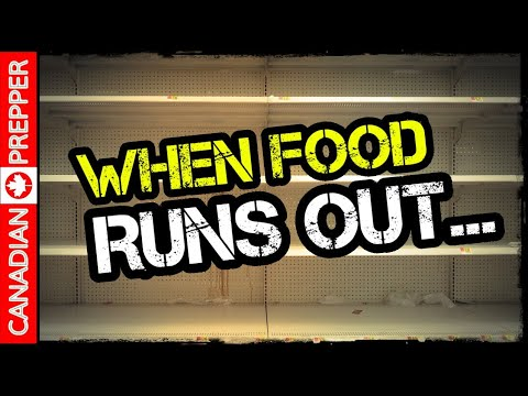 When Food Runs Out...