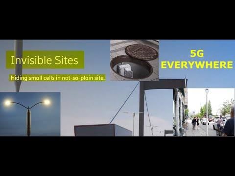 Hiding 5G Underground, Street Lights, & Lamps, Etc., & Many Videos On 5G Dangers