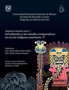 Introducción a los estudios comparativos en el arte indígena americano