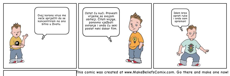 Koronavirus u stripu