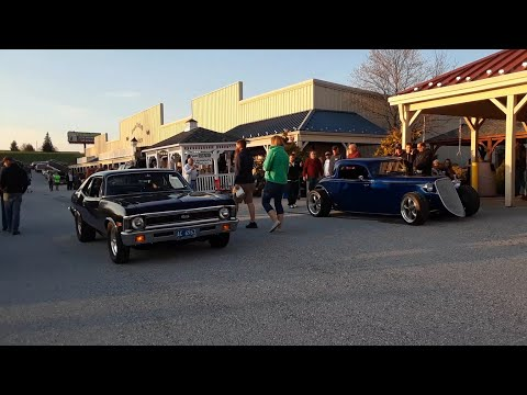 Motor Menders Friday Night Cruise  April, 2018  Come On Down!