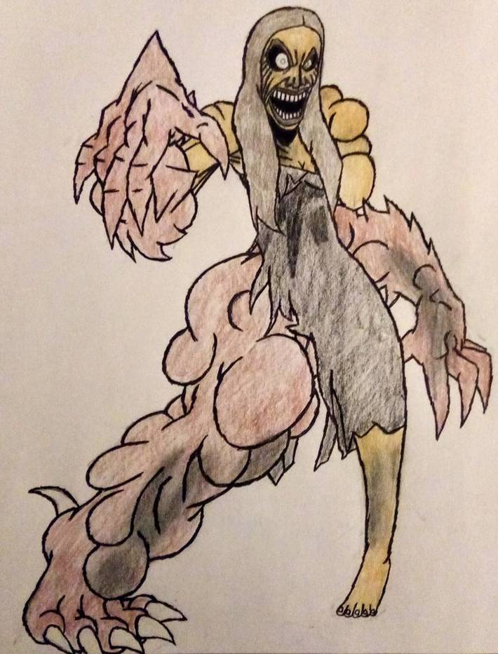 Mutated Zombie Alicia Nectar