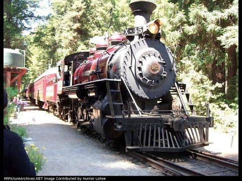 California Western Railroad: Fort Bragg to Northspur 8/14/08