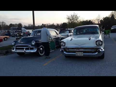 Sharp Chevys  At the 2017 Motor Menders Friday Night Cruise