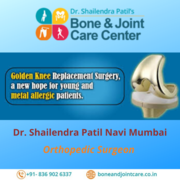 New Hope To Youngster : Golden Knee Replacement Surgery in Vashi