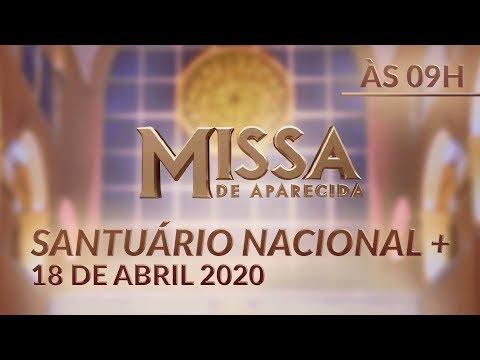 [AO VIVO] Missa de Aparecida - 09h 18/04/2020