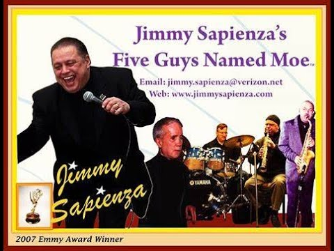 Jimmy Sapienza's Five Guys Named Moe up close and personal
