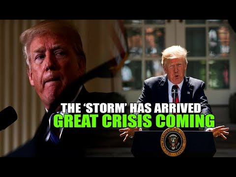 TRUMP's words Signal GREAT CRISIS & Civil Unrest in USA! the 'STORM' is Here!