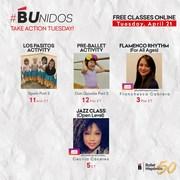 Ballet Hispánico B Unidos Take Action Tuesday 4/21