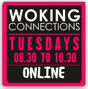 FREE Leatherhead and Woking Connections Coffee Time Online