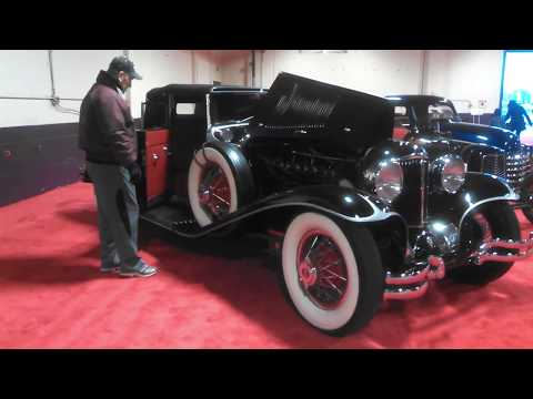 1930 Cord L29 Starting and Leaving the PA Auto Show