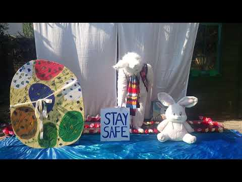 Easter message from Barnes White Rabbit